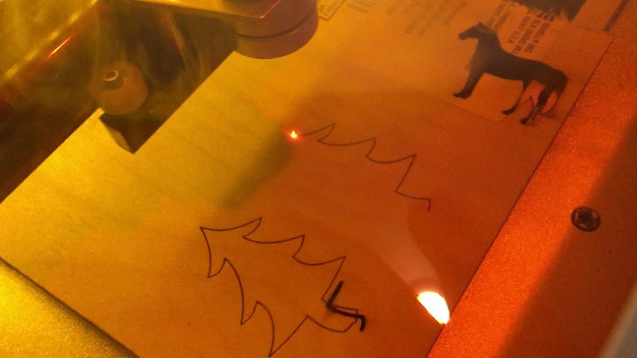 K40 + Smoothie + LaserWeb