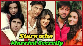 Bollywood Stars Secret Marriage     You Never Know