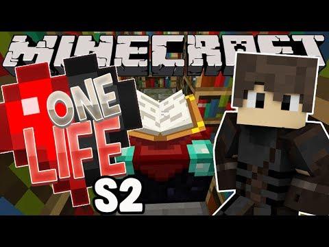 AN ENCHANTING EPISODE ! - One Life Season 2 Minecraft SMP - Ep.6