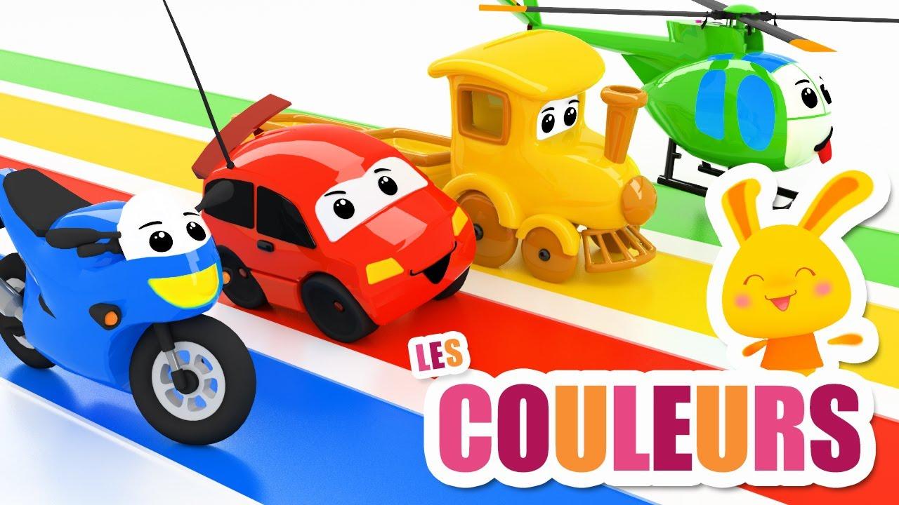 Les couleurs des véhicules