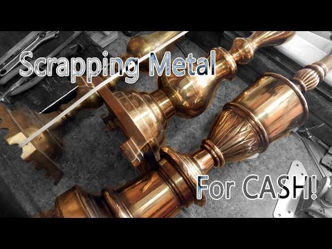 How to make extra cash scrapping brass and other cheaper metals!