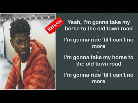 Old Town Road Lyrics by Lil Nas X ft. Billy Ray Cyrus