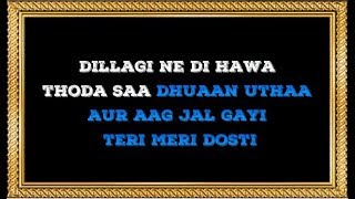 Dillagi Ne Di Hawa Karaoke With Female Voice