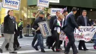 Columbus Day Parade on 5th Avenue in New York City - Monday October 10, 2016