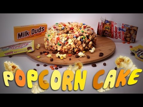 Movie Theatre Popcorn Cake Features All The Candy You'll Ever Need | HuffPost Life