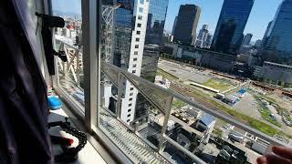 全家睡過頭沒吃早餐|The Westin Osaka視野超好!