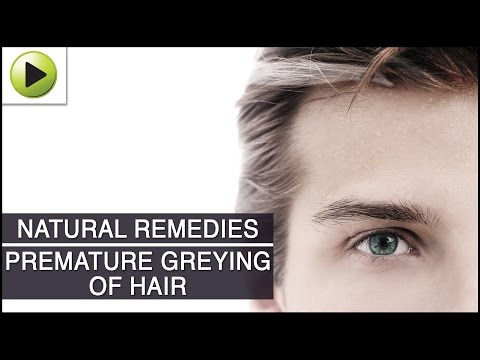 How To Stop Premature Greying Of Hair Naturally