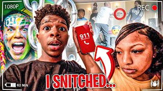 I TOLD MY DAD THE P0LICE TOOK ME AND IM SNITCHING ON HIM TO BE RELEASED TO SEE HOW HE REACTS! `