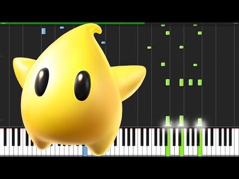 Starbit Festival - Super Mario Galaxy [Piano Tutorial] (Synthesia) // DS Music