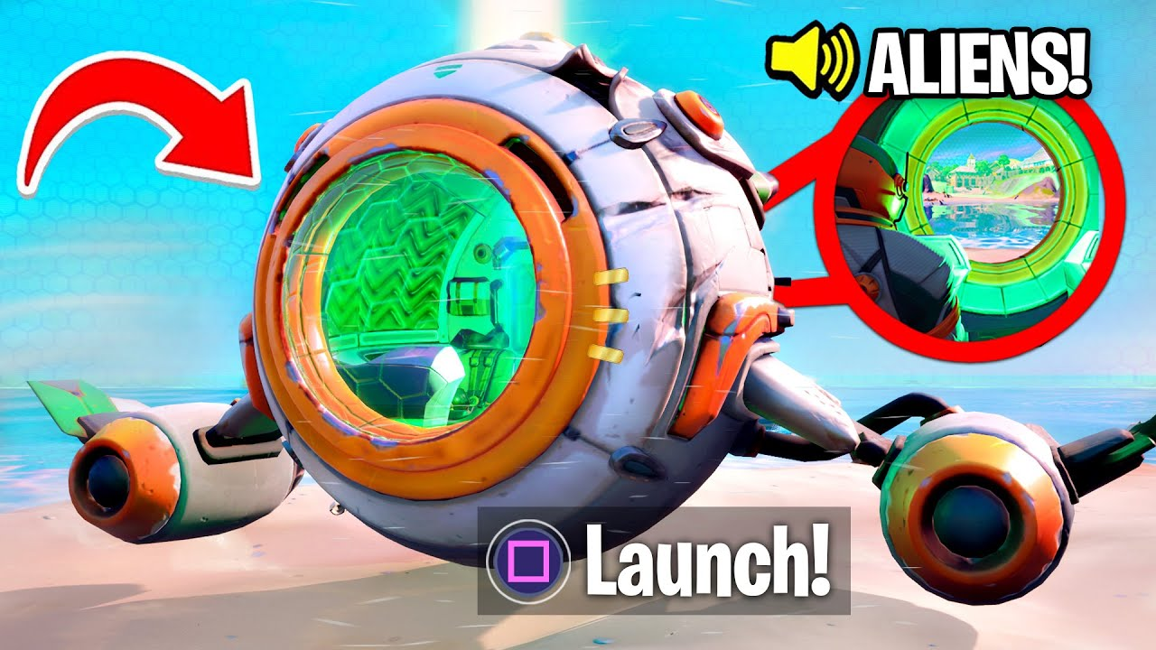 New SPACESHIP EVENT in Fortnite! (Season 3)