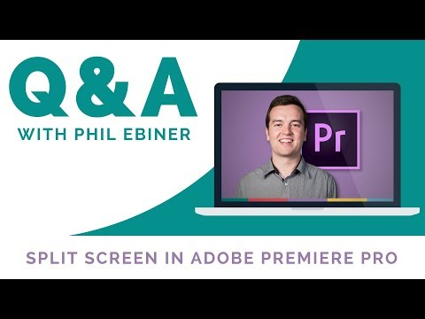 Split Screen In Premiere Pro Tutorial