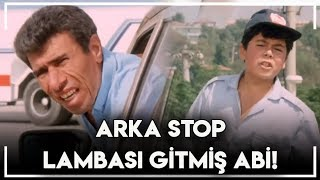 Sarı Mercedes Fikrimin İnce Gülü   - Arka stop Lambası Gitmiş Abi!