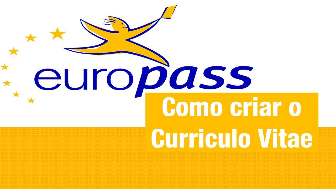 curriculum vitae europass ja preenchido