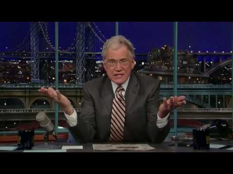 Letterman takes on NBC Vol 3: - Dave Responds To  Dick Ebersol