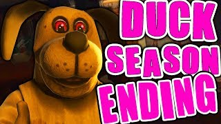 FNAF In VIRTUAL REALITY! | Duck Season | ENDING
