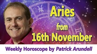 Aries Weekly Horoscope from 16th November 2015
