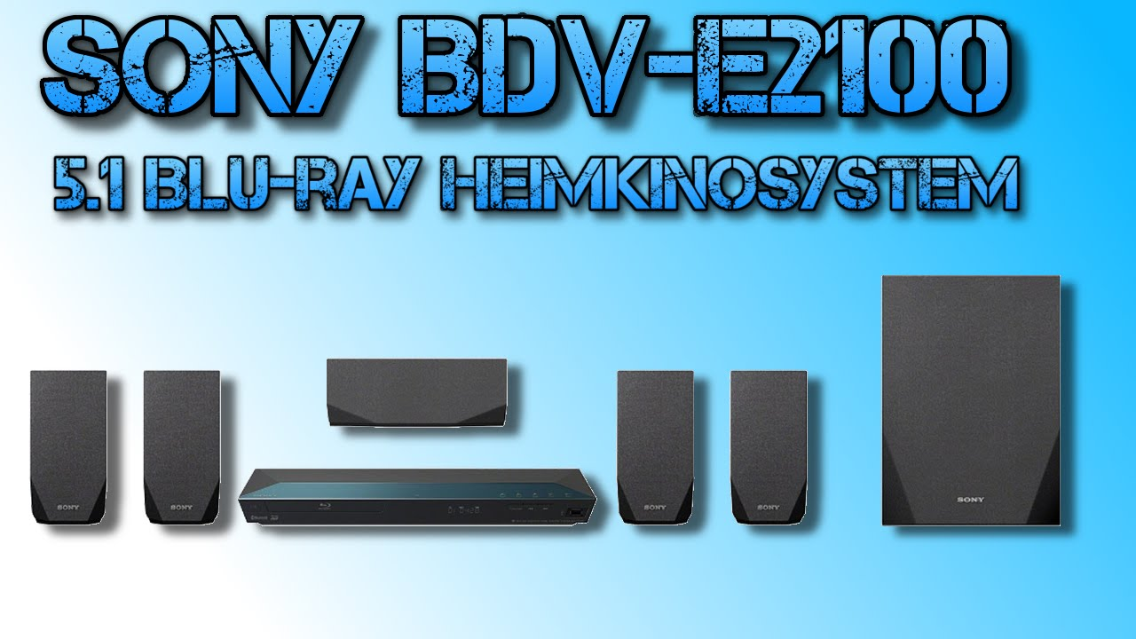 sony bdv e2100 5 1 blu ray heimkinosystem 1000 watt 3d. Black Bedroom Furniture Sets. Home Design Ideas