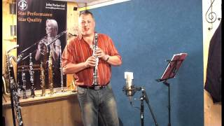 JP124 C Clarinet demonstration by Pete Long - John Packer Ltd