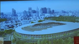 Tokyo selects new design for Olympic stadium after cost row