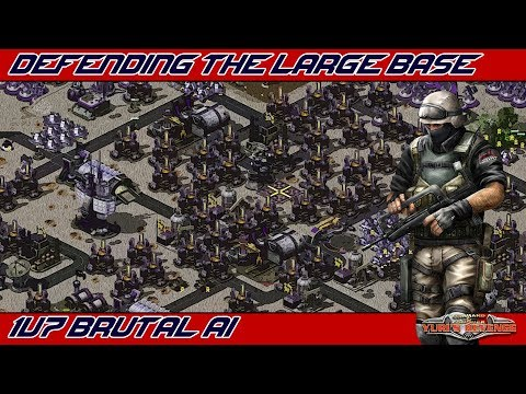 Mother Of All Bases - 1v7 BRUTAL AI ( Command & Conquer - Yuri's Revenge )
