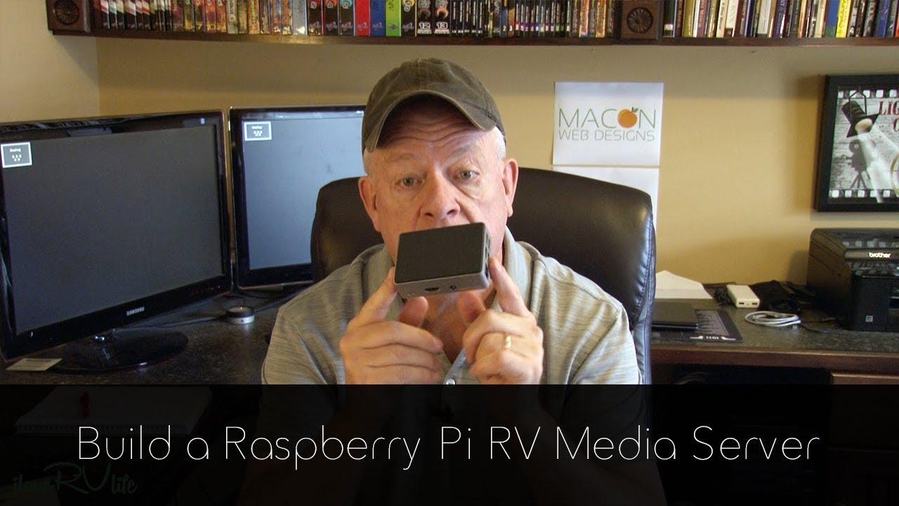 Build a Raspberry Pi RV Media Server
