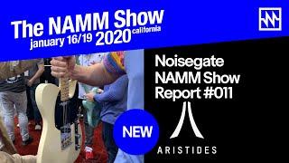 Gambar cover NAMM 2020: Aristides Guitars - New T/0 Modern Tele Shape Guitar & More