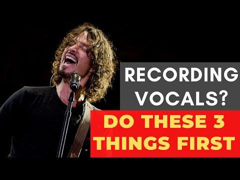 3 Things To Do Before Vocal Recording – RecordingRevolution.com