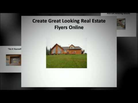 free real estate flyer template youtube