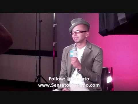 "Sensato-""Behind The Scenes"" for MTV3 Interview @ ""Lo Que Te Pica"" TV Show(www.SensatosWorld.com)"