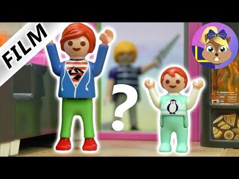 Playmobil film: Vad pysslar pappa Martin med i trädgården? En överraskning!