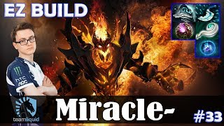 Miracle - Shadow Fiend MID | EZ BUILD | Dota 2 Pro MMR Gameplay #33