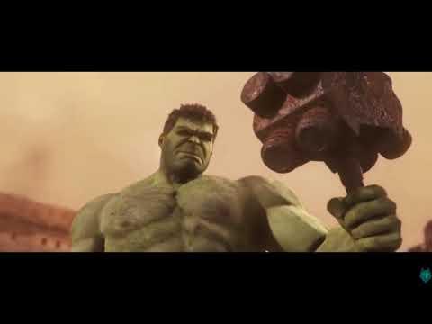 THOR  lost his eye in ragnarok! + deleted scenes hulk