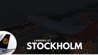 [P3DV4] ✈ EWG370 | Landing at Stockholm ( ESSA | ARN ) | B738 | IVAO | Fly with me #13