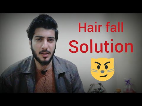 How to quickly stop cat's hair fall problem in urdu /hindi