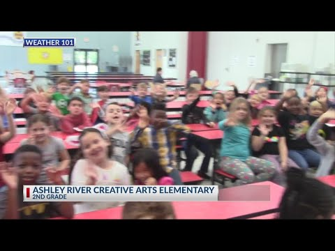 Rob Fowler visits Ashley River Creative Arts Elementary School 2018