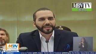 Presidente Nayib Bukele desde la Asamblea Legislativa | Solicitud de Salida del País