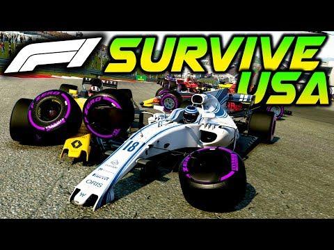SURVIVE USA - Extreme Damage Mod F1 Game Keyboard Challenge