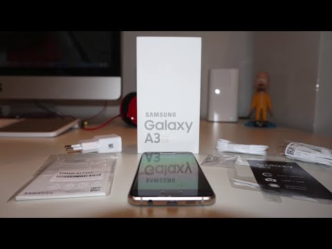 Samsung Galaxy A3 (2016) - Unboxing - MusicVersion