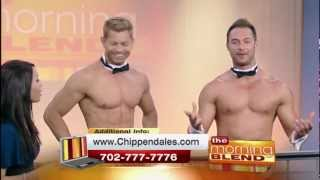 JAYMES & JAMES - PROMO CHIPPENDALES 4000th SHOW (5-31-12) - LOCAL TV