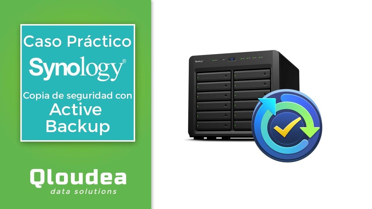 Active Backup de Synology ahorro para empresas