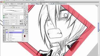 How to Draw Manga with Sen and Kai - Manga Studio Part 2
