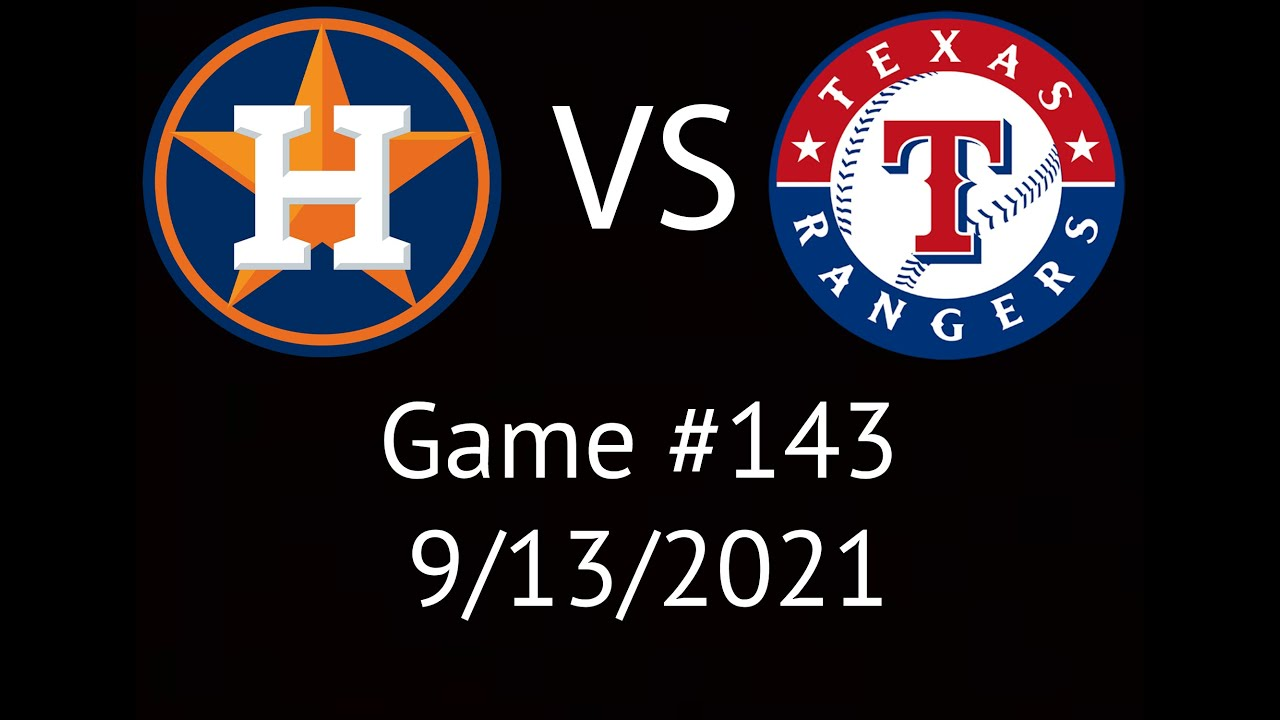 Download Astros VS Rangers Condensed Game Highlights 9/13/21