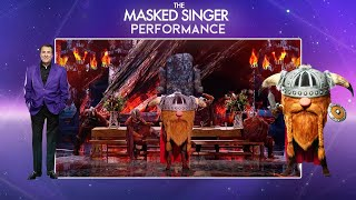 Viking Performs 'Watermelon Sugar' by Harry Styles | Season 2 Ep. 4 | The Masked Singer UK