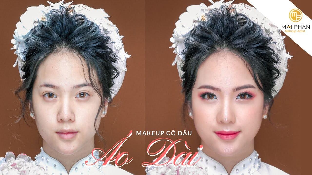 Hướng dẫn Makeup CÔ DÂU ÁO DÀI | Mai Phan Makeup
