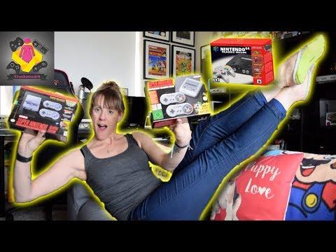 NES, SNES, Sega Mega Drive and N64 Mini's are ALL I care about | Mini Retro Game Console | TheGebs24