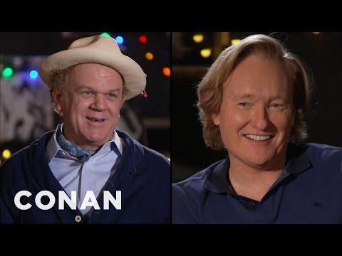 #CONAN: John C. Reilly Full Interview - CONAN on TBS