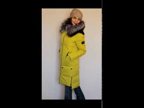 Смотреть Зимняя Женская Куртка Парка Синяя Lisa1.Ru - Парка С .