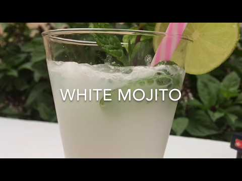 WHITE MOJITO | NEW YEAR & CHRISTMAS SPECIAL DRINK | Winter Drinks| Easy Recipes