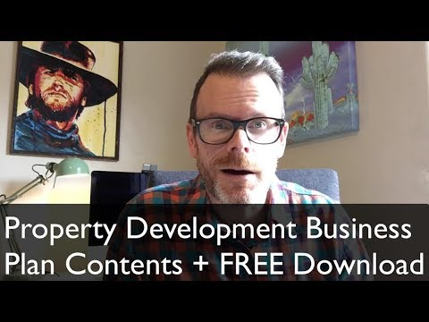 Property Development Business Plan (Contents & FREE Download)