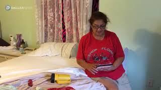 VIDEO: A Hurricane Harvey rescue plea